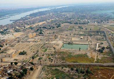 Hallan restos de un santuario dedicado a Osiris en Karnak