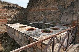 ¿Qué es un termopolio romano?